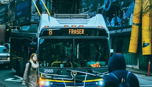 バスの乗り方 in バンクーバー